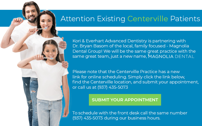 Kori & Everhart Advanced Dentistry is partnering with Dr. Bryan Basom of the local, family focused - Magnolia Dental Group!