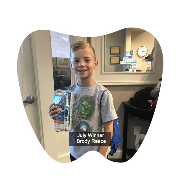 No Cavity Club May Winner - Brody Reece