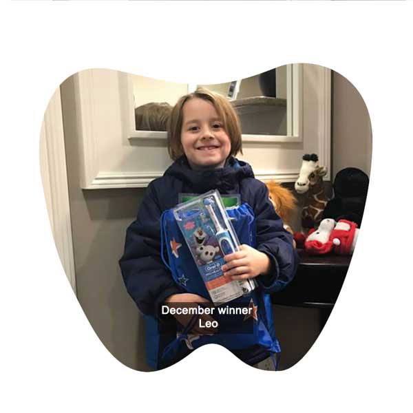 No Cavity Club December Winner Leo