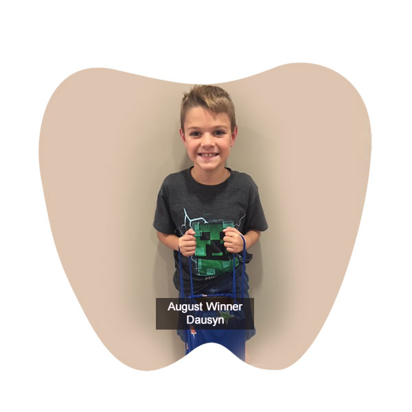 No Cavity Club Winner August 2019, Franklin OH