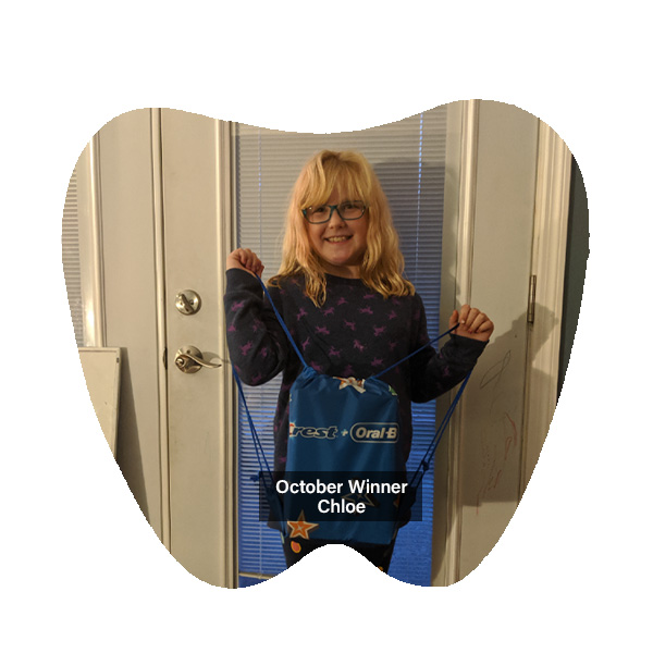 No Cavity Club Winner October 2019, Franklin OH