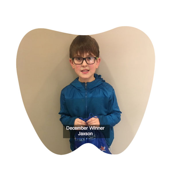 No Cavity Club Winner December 2019, Franklin OH