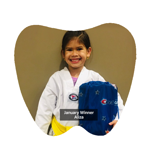No Cavity Club Winner January 2020, Franklin OH