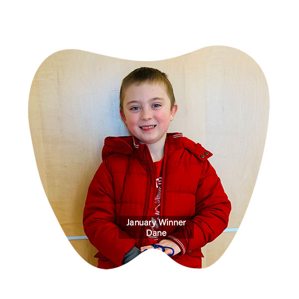 Congratulations to January Winner, our No Cavity Club Winner at our Franklin location for the month of January!, Franklin OH