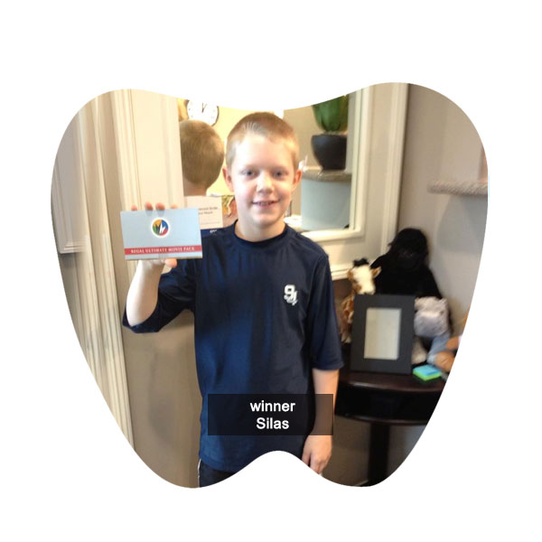 No Cavity Club 2014 Winner Silas